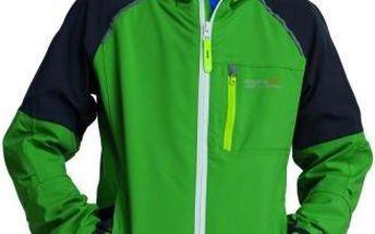Dětská - juniorská bunda Regatta RKW151 SCAFELL STR Extreme Green