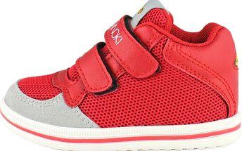 Ominoki Dětské kotníkové tenisky - červené