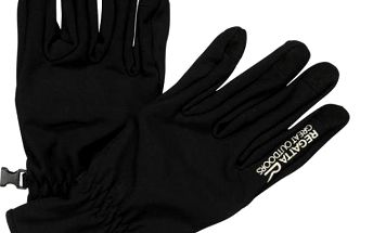 Unisex softshellové rukavice Regatta RMG010 XERT S/Shell Black