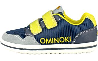 Ominoki Chlapecké tenisky - modro-žluté