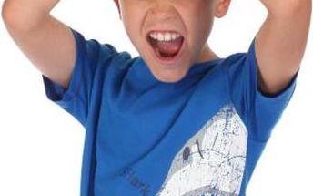 Dětské juniorské triko Regatta RKT059 BOBBLES OxfordBlue