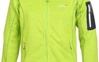 Pánská fleece mikina Regatta RMA128 Coldwell Lime Green