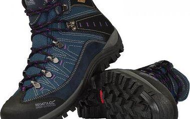 Dámská kotníková obuv Regatta SBRWF475 SUMMIT Black/Blue