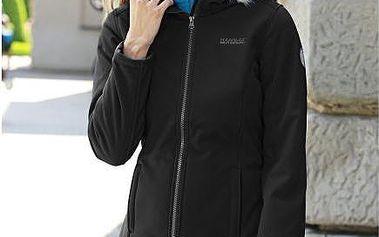 Dámský softshellový kabát Regatta RWL112 ADHARA Black
