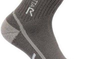 Dámské funkční ponožky Regatta RWH032 3Season TrekTrail šedá