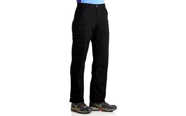 Dětské - juniorské kalhoty Regatta RKJ052 HEATHTEK Str Trs Black