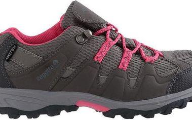 Dětské boty Regatta RKF330 GARSDALE LOW Jnr Steel/Tulip