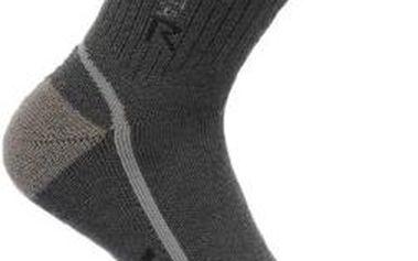 Pánské funkční ponožky Regatta RMH032 3Season TrekTrail šedé