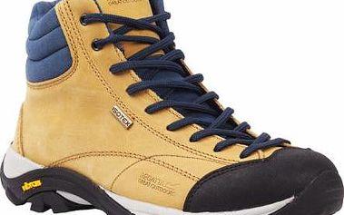Dámská kotníková outdoorová obuv Regatta SBRWF478 LE FLORIAN HIGH LADY beige/navy