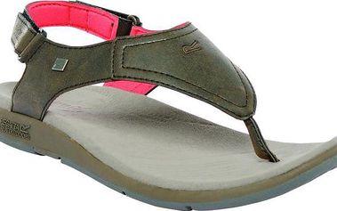 Dámské sandále Regatta RWF395 TRAILRIDER LIF Hnědá
