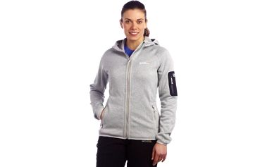 Dámská fleece mikina Regatta RWA154 WINTERLOVE Light Steel