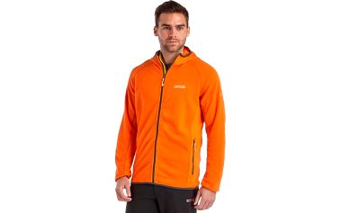 Pánská fleece mikina Regatta RMA222 Addison Magma Orange