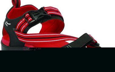 Pánské sandály Regatta RMF398 SUPA-SWIFT Black/RedA