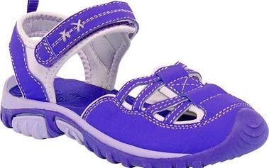 Dětské sandály Regatta RKF406 BOARDWALK PurHeart/Iri
