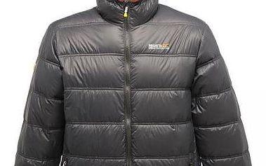Pánská péřová bunda Regatta RMN019 SUMMITSPHERE Grey