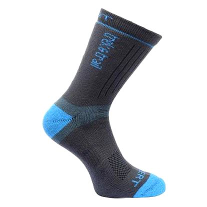 Pánské funkční ponožky Regatta RMH021 Xert HW TrekTrail černá