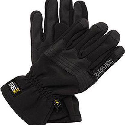Pánské softshellové rukavice Regatta TRG209 Denman SS černá
