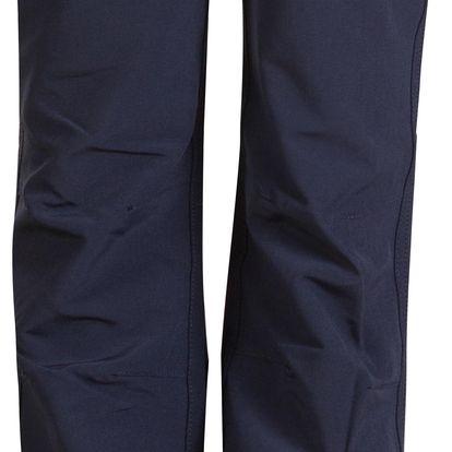 ALPINE PRO Dětské softshellové kalhoty Vemo - černé