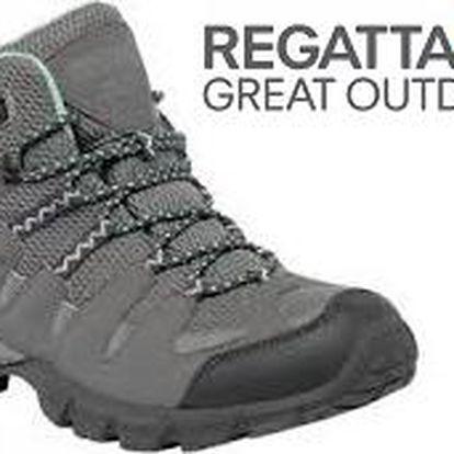 Dámské vysoké boty Regatta RWF340 Lady GARSDALE Mid Steel/Yucca