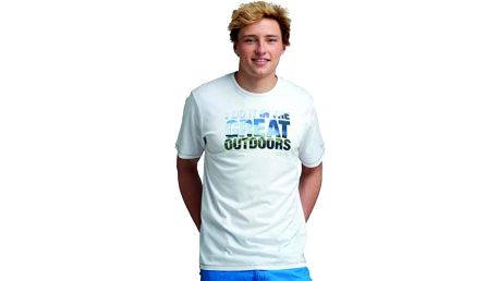 Pánské tričko Regatta RMT092 ORION White