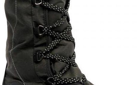 Dámská zimní obuv Regatta RWF389 Lady Snowpak II Black/Grey