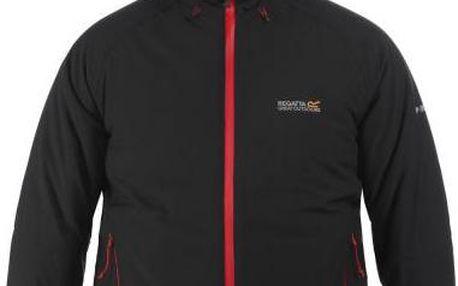 Pánská zimní bunda Regatta RMP161 GRISEDALE Black/Black