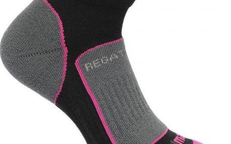 Dámské funkční ponožky Regatta RWH030 Trail Runner černá