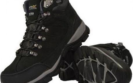 Dámské trekové boty Regatta SBRWF440 BORDERLINE Black/Charco