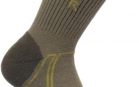 Pánské trekové ponožky Regatta RMH034 2Season TrekTrail DustyOl/DkSp