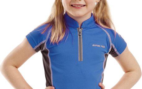 ALPINE PRO Dětské funkční tričko Donnino - modré