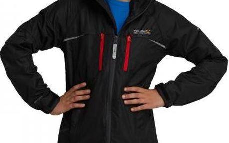 Dětská - juniorská bunda Regatta RKW150 ALLPEALS Black/Black