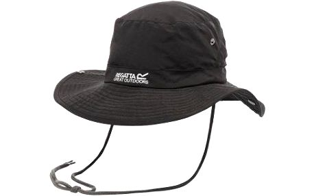 Pánský klobouk Regatta RUC021 HIKING Hat WR Black