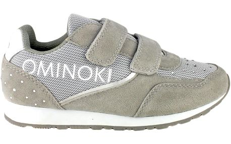 Ominoki Dívčí tenisky s kamínky - šedé