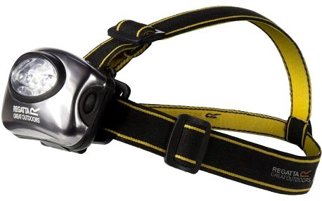 Regatta 5 Led Headtorch Black/Sealgr