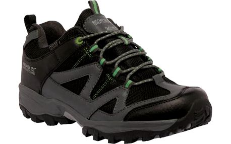 Pánská obuv Regatta RMF450 GATLIN LOW Black/ExtGrn