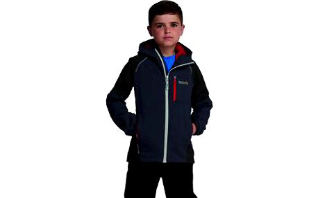 Dětská - juniorská bunda Regatta RKW151 SCAFELL STR SeaGrey