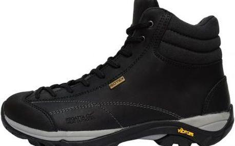 Dámská kotníková outdoorová obuv Regatta SBRWF478 LE FLORIAN HIGH LADY black/dark grey