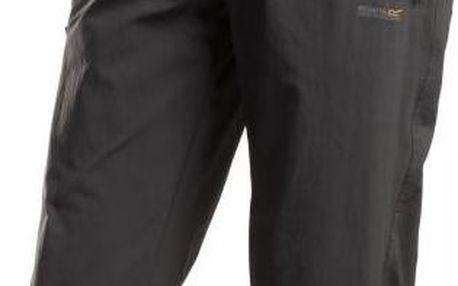 Pánské strečové 3/4 kalhoty Regatta RMJ101 XERT Str CAPRI II Ebony