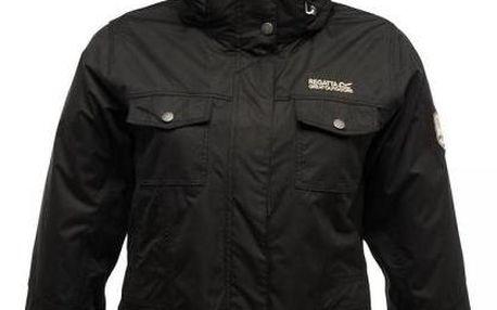 Dámská podzimní/zimní bunda Regatta RWP130 RAINFALL 3 in 1 Black
