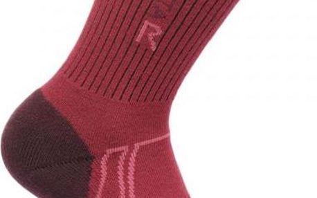 Dámské funkční ponožky Regatta RWH034 2Season TrekTrail fialová
