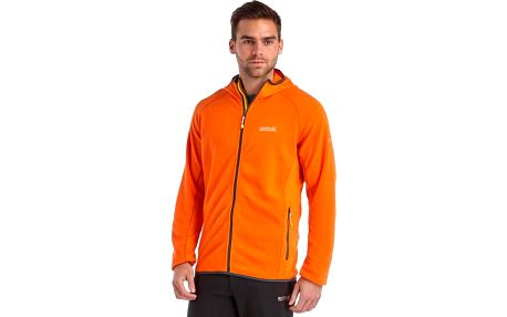 Pánská fleece mikina Regatta RMA222 Addison Magma Orange