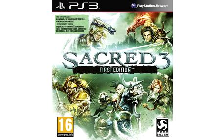 Sacred 3 - First Edition - PS3 - 4020628888831