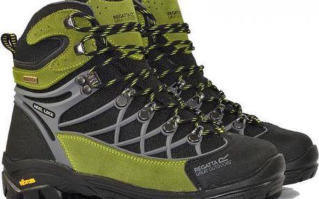 Dámská kotníková outdoorová obuv Regatta SBRWF477 INTERACTIVE LADY Black/Green
