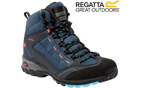 Dámské trekové boty Regatta RWF456 ULTRA-MAX II MID MorocBlue/Coral