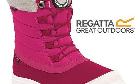 Dětská zimní obuv Regatta RKF434 ELVINA Jr Jem/White