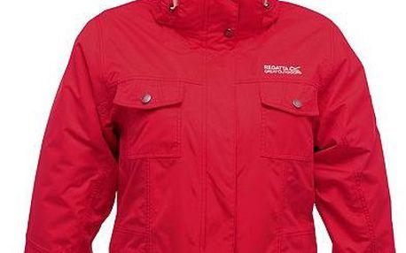 Dámská podzimní/zimní bunda Regatta RWP130 RAINFALL 3 in 1 Red