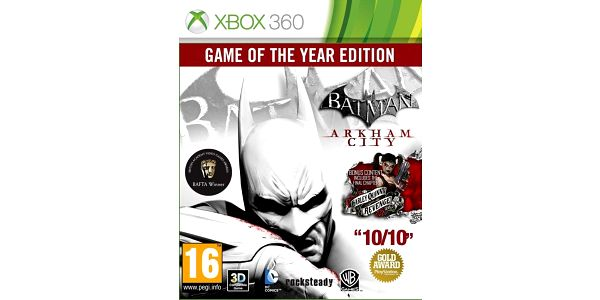 Batman: Arkham City - GOTY (Xbox 360) - 5051892115704