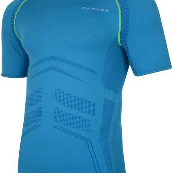 Pánské funkční tričko Dare2B DMT154 METRICAL T Blue Jewel