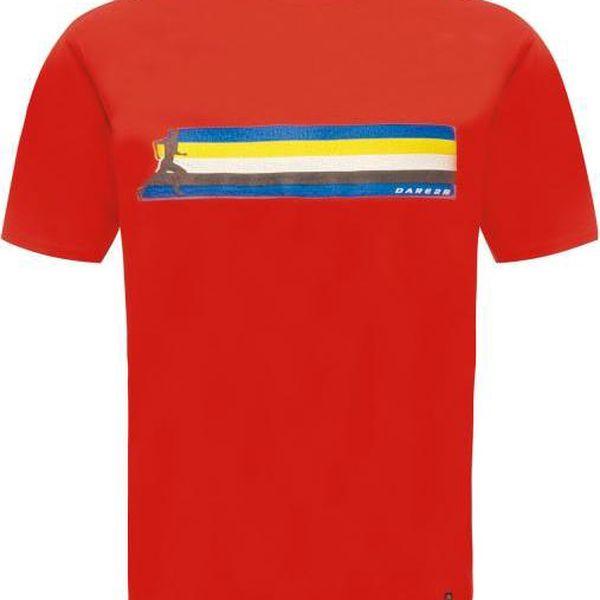 Pánské tričko Dare2B DMT322 MULTIBAND FieryRed