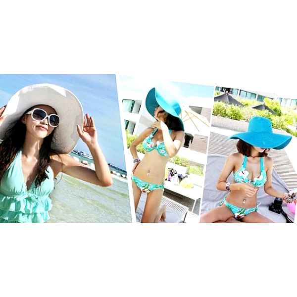 Elegantní dámský letní klobouk vhodný do města i na pláž, vyrazte na párty ve stylovém kloboučku!